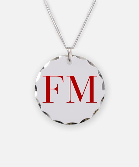 FM-bod red2 Necklace