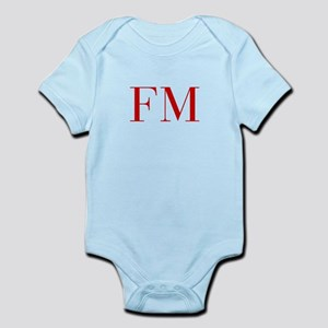 FM-bod red2 Body Suit