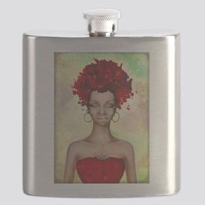 Crazy red hair morning Flask