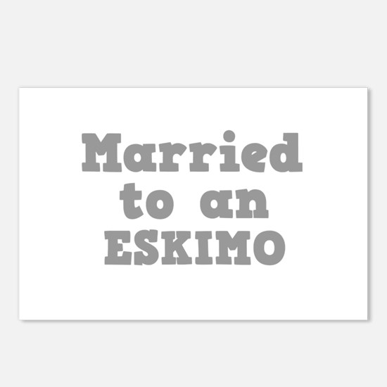 Married to an Eskimo Postcards (Package of 8)