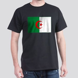 Algeria Flag Dark T-Shirt