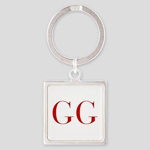 GG-bod red2 Keychains