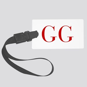 GG-bod red2 Luggage Tag