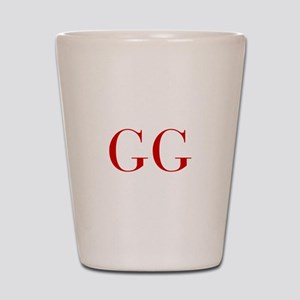 GG-bod red2 Shot Glass
