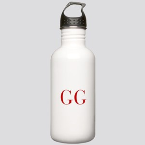 GG-bod red2 Water Bottle
