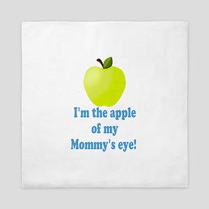 Apple of Mommys Eye Queen Duvet