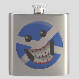 Scottish Smile Flask