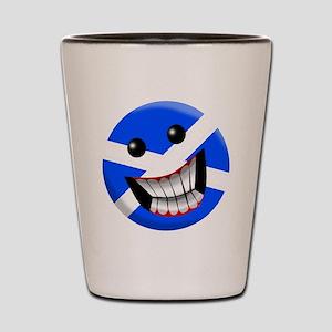 Scottish Smile Shot Glass