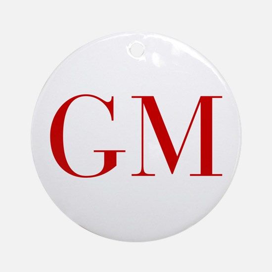 GM-bod red2 Ornament (Round)