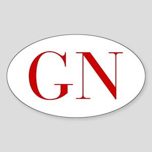 GN-bod red2 Sticker