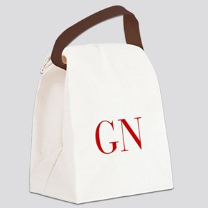 GN-bod red2 Canvas Lunch Bag
