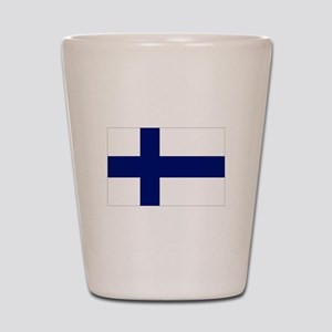 Finland flag Shot Glass