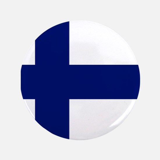 "Finland flag 3.5"" Button"