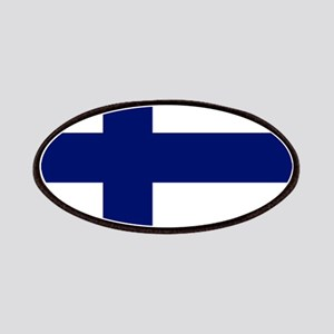 Finland flag Patches