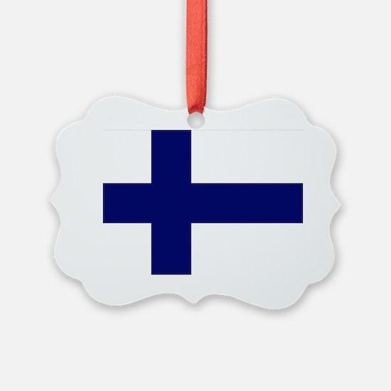 Finland flag Ornament