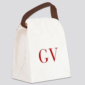 GV-bod red2 Canvas Lunch Bag