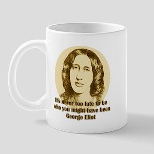George Eliot Quote Mug