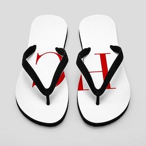 HC-bod red2 Flip Flops