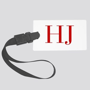 HJ-bod red2 Luggage Tag
