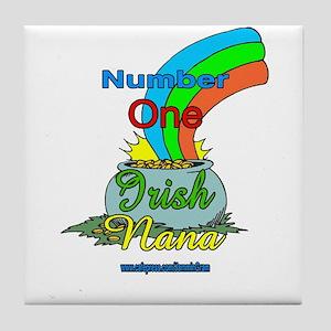 NUMBER 1 IRISH NANA Tile Coaster