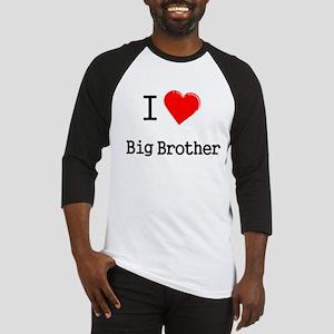 I heart big brother Baseball Jersey
