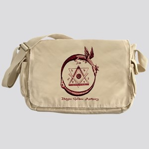 Alchemical Ouroboros Messenger Bag