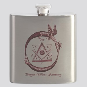 Alchemical Ouroboros Flask