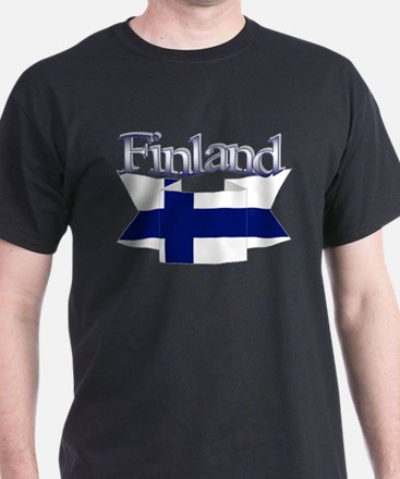 Finnish flag ribbon T-Shirt