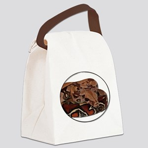 red tail boa Canvas Lunch Bag