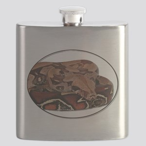 red tail boa Flask