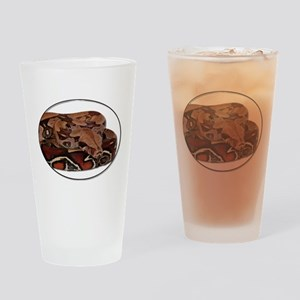 red tail boa Drinking Glass