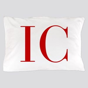 IC-bod red2 Pillow Case