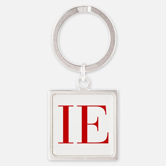 IE-bod red2 Keychains