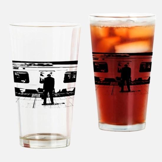 Train Drinking Glass