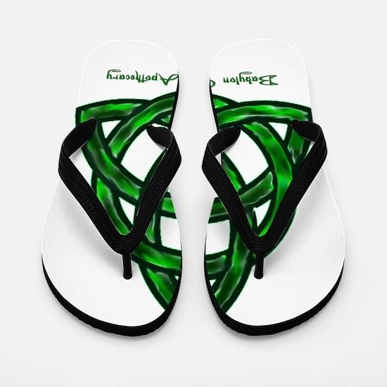 Keltic Knot Flip Flops