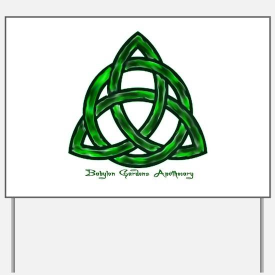 Keltic Knot Yard Sign
