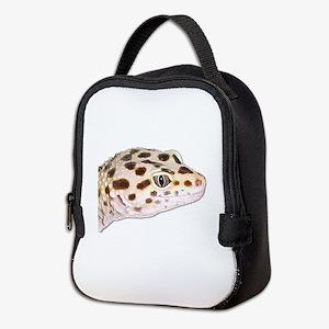 Leopard geckos Neoprene Lunch Bag