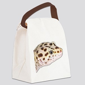 Leopard geckos Canvas Lunch Bag
