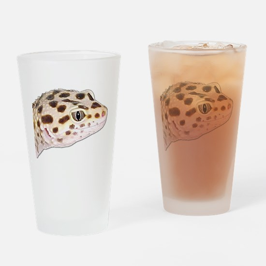Leopard geckos Drinking Glass