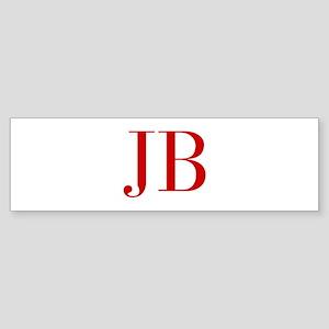 JB-bod red2 Bumper Sticker
