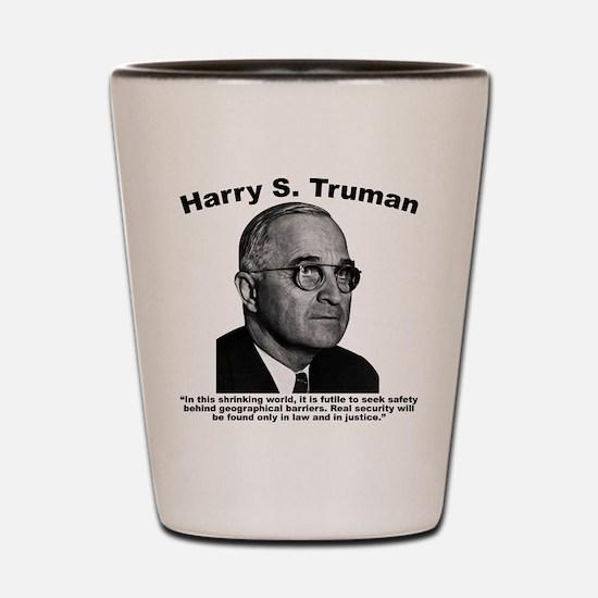 Truman: Security Shot Glass