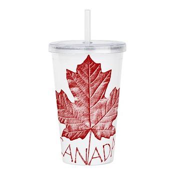 Cool Canada Souvenir Acrylic Double-wall Tumbler