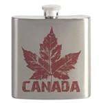 Canada Souvenir Flask Canadian Maple Leaf Flask