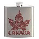 Canada Souvenir Flask Canadian Maple Leaf Flask