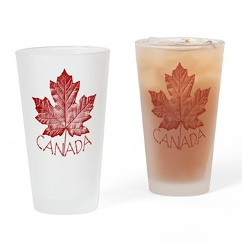 Cool Canada Souvenir Drinking Glass