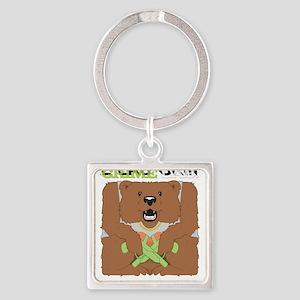 Grime Lab Thug Bear Keychains
