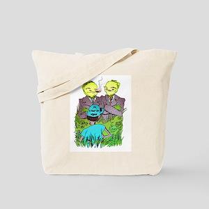 I Fear No Weeds Tote Bag