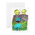 I Fear No Weeds Greeting Cards (Pk of 10)