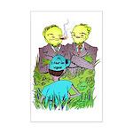 I Fear No Weeds Mini Poster Print