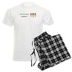 Ice Cream Addict Men's Light Pajamas
